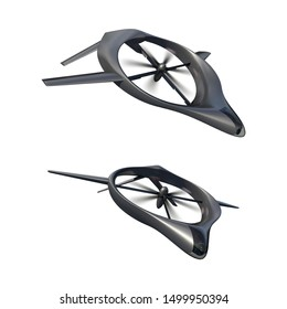 An original VTOL drone design, aimed at surveillance and/or ground attack.