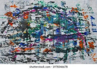 originele abstracte moderne hedendaagse kunst