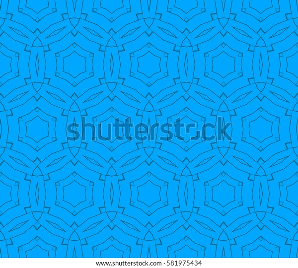 Ornamental seamless pattern. Raster copy abstract background.