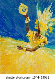 Oshun (known as Ochún or Oxúm in Latin America) is an orisha, a goddess that reflects one of the manifestations of God in the Ifá and Yoruba religions