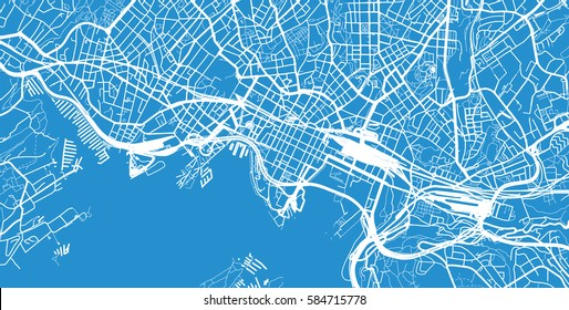 Oslo, Norway city map