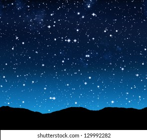 Starry Night Sky Images, Stock Photos & Vectors | Shutterstock