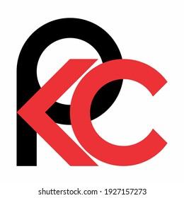 P K C logo design