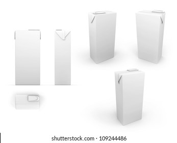 Package with clipping path