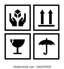 Package handling symbols