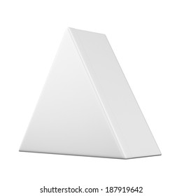 Package triangular shape Box
