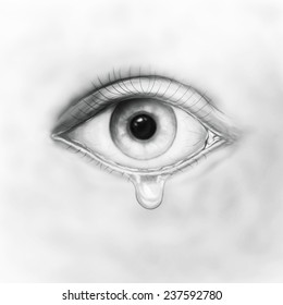 Crying Eyes Images Stock Photos Vectors Shutterstock