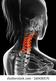 painful cervical spine