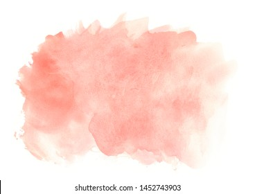 paint abstract colored background.Red brush strokes.Design image