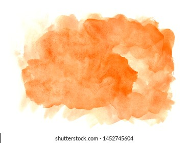 paint abstract colored background.Orange brush strokes.Design image