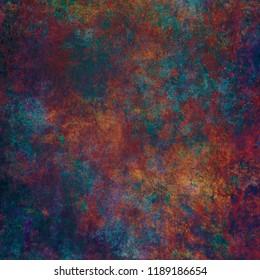 Paint texture in deep jewel tones