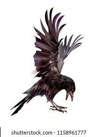 Crow Tattoo Images, Stock Photos & Vectors | Shutterstock