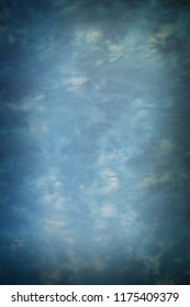 Painted canvas or muslin fabric cloth studio backdrop or background.