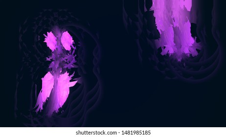 Painted Purple Color Absract Bagckground
