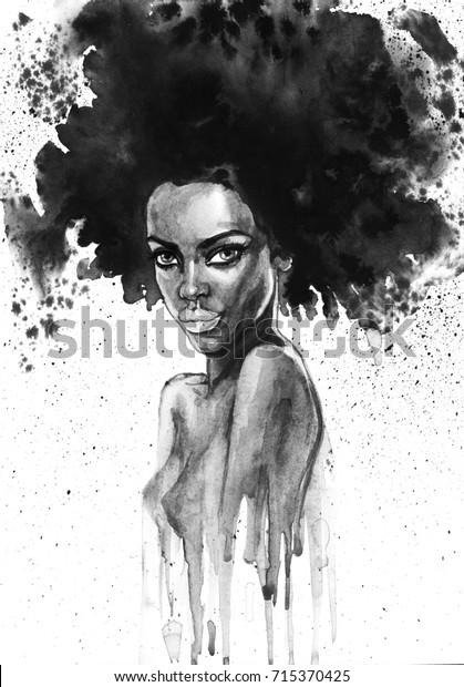 Fotky sexy africká dívka