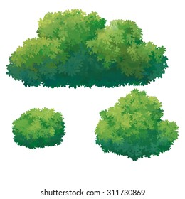 Bushes Painting Images Stock Photos Vectors Shutterstock