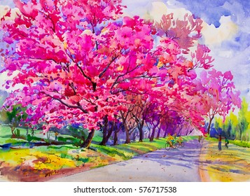 Watercolor Painting Images Stock Photos Vectors Shutterstock