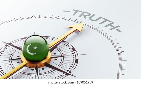Pakistan High Resolution Truth Concept