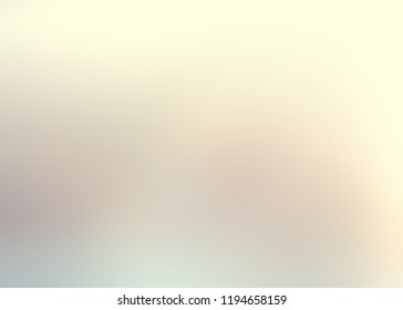 Pale beige blue yellow ombre background. Light muted blurred pattern. Faint pastel defocus texture. Gentle abstract illustration.