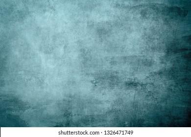 Pale blulegrungy distressed canvas bacground
