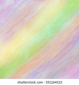 pale colors of yellow green purple pink orange red and blue in soft brush stroke texture and angled stripes, abstract background design