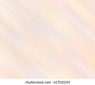 Pale cream striped texture. Empty blurred background. Stylish warm backdrop.