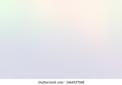 Pale holographic subtle abstract background. Pastel iridescent blur template. Mother of pearl delicate pattern.