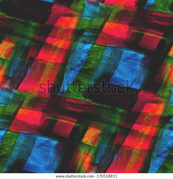 palette seamless picture red, blue, green frame graphic style texture watercolor background