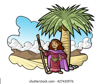 The palm of Deborah