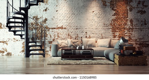 1000+ Loft Apartment Stock Images, Photos & Vectors ...