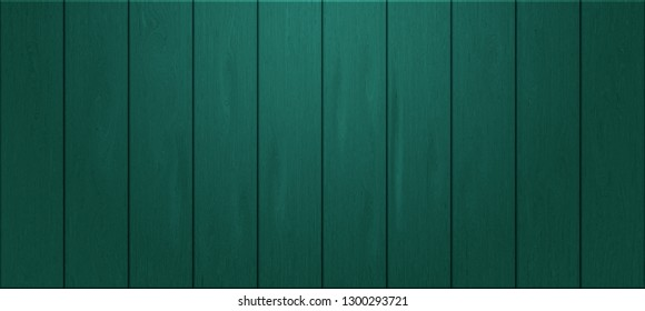 panoramic planks of vintage wood wall texture for background - concept interior and exterior decoration