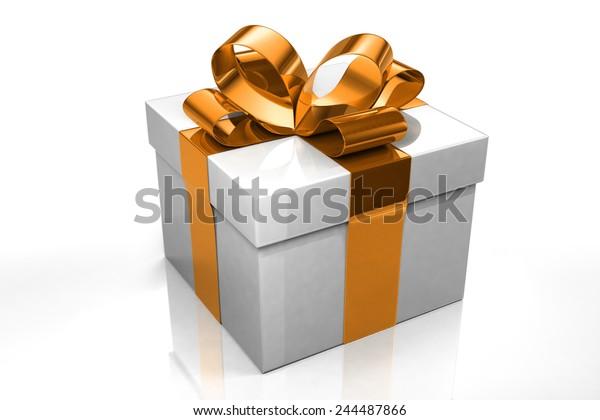 Paper 3d Gift Boxes Set Illustration