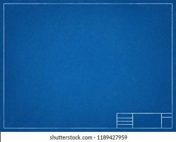 Paper blueprint background