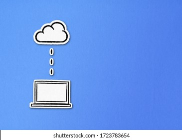Paper notebook sending files to cloud