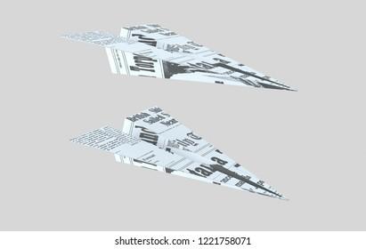 Paper plane. Words aeroplane. . 3d illustration