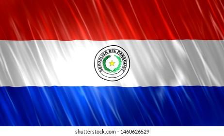 Paraguay Flag for Print, Wallpaper Purposes, Size : 7680(Width) x 4320(Height) Pixels, 300 dpi, Jpg Format