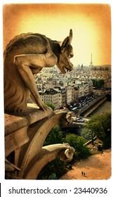 Parisian details- artistic toned picture