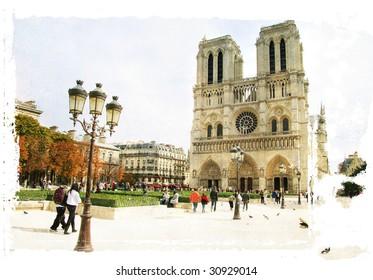 Parisian pictures - Notre-dame
