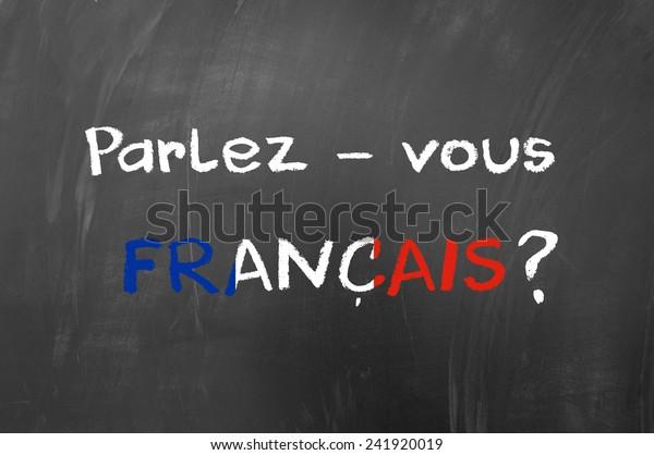 Parlez vous francais question on blackboard