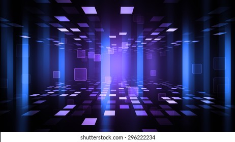 Party Background with glittering lights,dance floor and light panels. 8K Ultra HD Resolution at 300dpi
