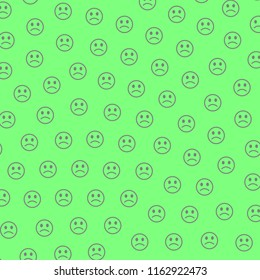 Party design. Irregular texture. Throng containing multiple smileys.