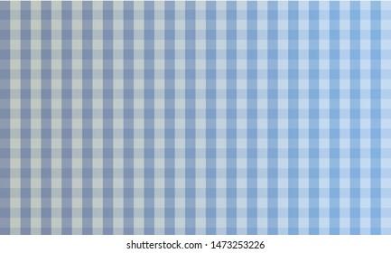 pastel blue plaid gingham background. Blue background of plaid pattern
