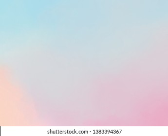 pastel blurry colorful abstract background of gradient color. Ombre style