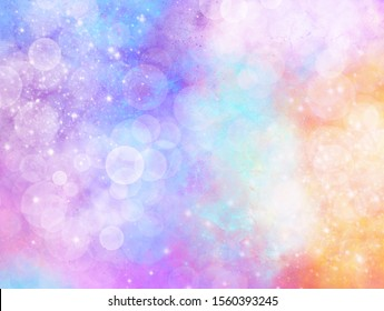 pastel blurry colorful abstract background of gradient color. Ombre style for Christmas, new year, holiday, princess, girly, valentine's day