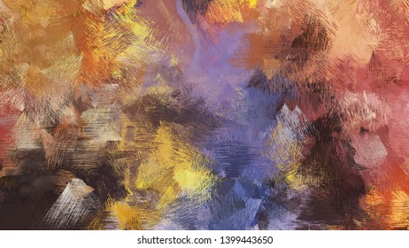 pastel brown, very dark violet and burly wood color brushed strokes background. artistic texture can be used for wallpaper, cards, poster or creative fasion design elements.