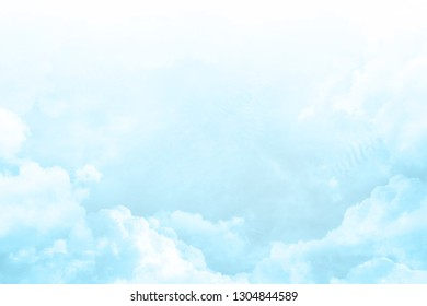 pastel color clouds background