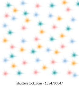 Pastel colored dots scattered Alternately is beautiful. Suitable for making backgrounds and wallpapers.