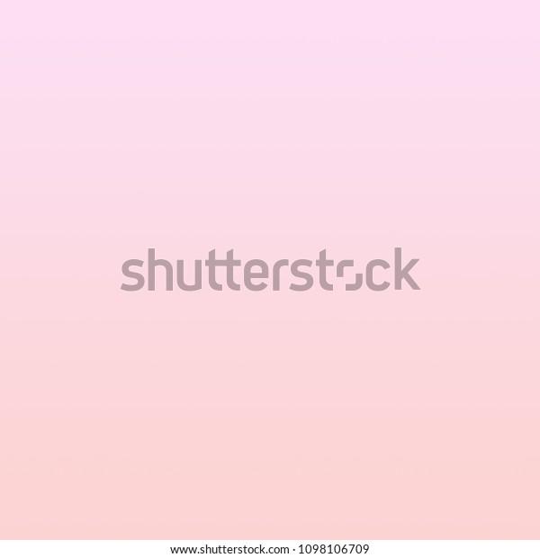Pastel Millennial Pink Gradient Background Cute Stock Illustration