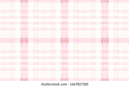 Pastel Pajama Pattern. Wool Seamless Plaid Flannel. Watercolor Squares for Twill Design. Elegant Kids Pajama Pattern. Geometric Scottish Checkered Tablecloth. Girly Modern Pajama Pattern.