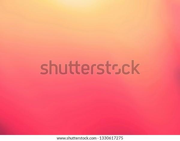 Pastel Pink Simple Background Design Decorate Stock Illustration